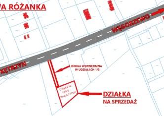działka na sprzedaż - Kętrzyn (gw), Nowa Różanka